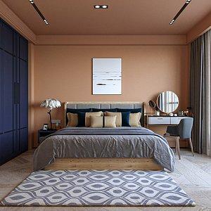 Bedroom Interior Scene 3D