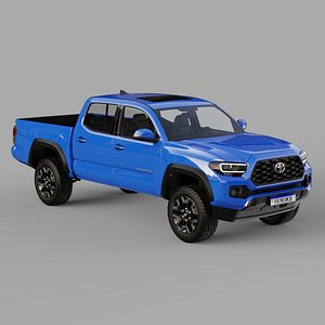 3D Toyota Tacoma 2020 model