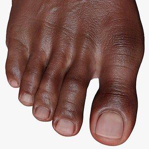 Foot Black 3D model
