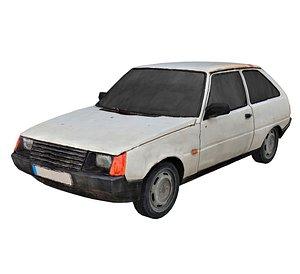 Old Car Scan 7 3D model