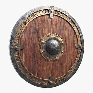 3D Viking Shield
