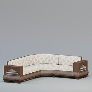 sofa couch seat 3D