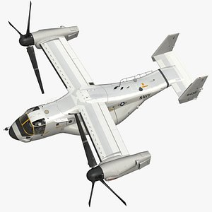 3D CMV22 Osprey model