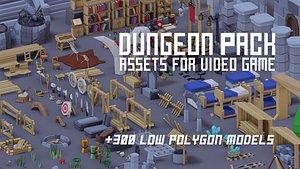 300 dungeon 3D