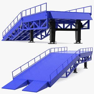 3D Portable Trailer Loading Dock