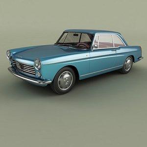 Peugeot 404 Coupe 3D