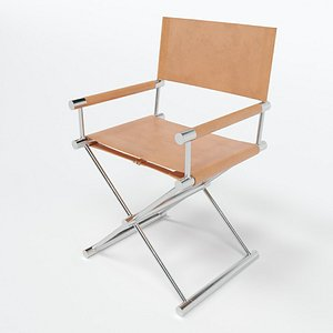 3D Embasy Directors Chair