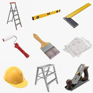 3D model Construction tools and accessories PBR