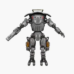 3D model factory robot