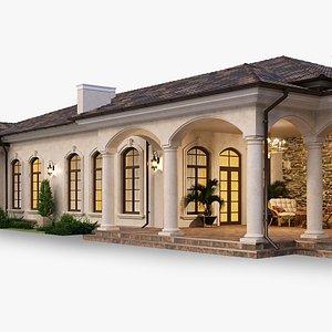 3D house italian model