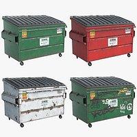 4 Dumpsters UHD