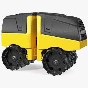 Trench Roller 3D model