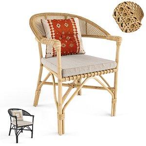 Avery grace arm chair 3D model