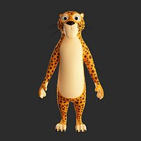 Leopard Cartoon