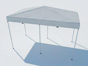 tent 4x8 modeled model