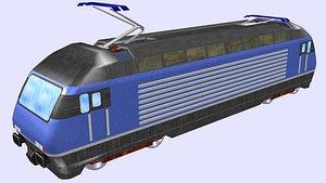 electric locomotive re 465 3D