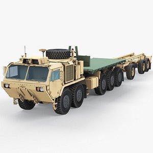 3D model Palletized Load System Oshkosh A1 Trailer