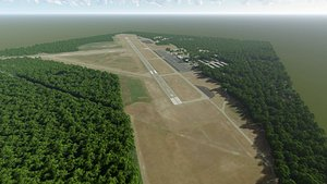 3D martha s vineyard airport model