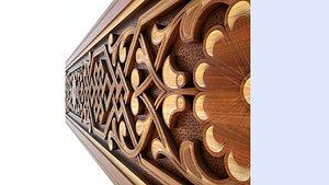 3D Arabic pattern model