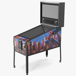 Classic Arcade Virtual Pinball Machine 3D