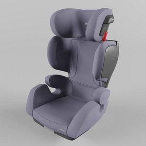 3D model Recaro Mako 2 Children Car Seat Core Simply Grey