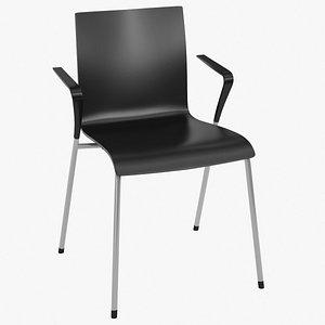 realistic chair piiroinen - 3D model
