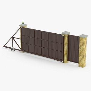 Sliding Gates 3D model