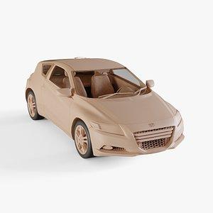 3D model 2011 Honda CR-Z