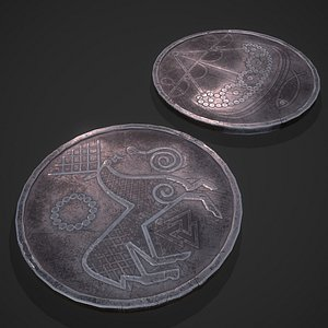 Viking Coins 3D model