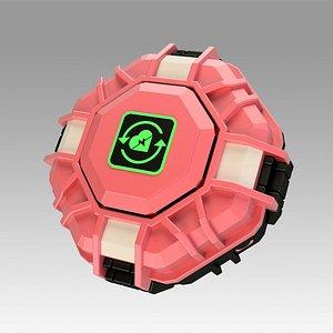 Apex Legends Mobile Respawn Beacon Capsule replica props 3D model