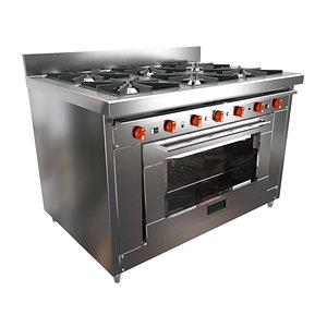3D stove industrial model