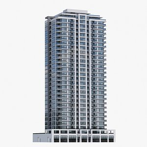 Vancouver Apartments V7 3D model