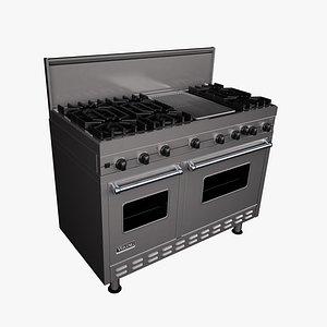 stove viking 3D