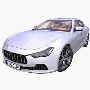 3D sedan italian