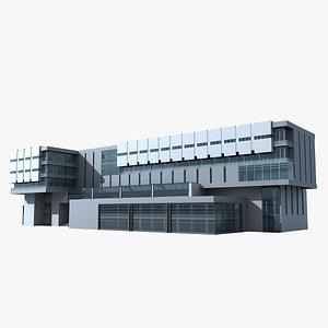 3D Modern Building 129