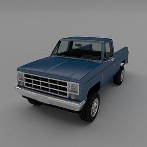 pick-up 2 3D model