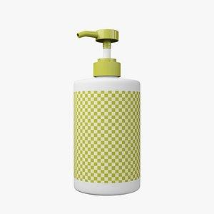 Shampoo Bottle 700 ML 3D model