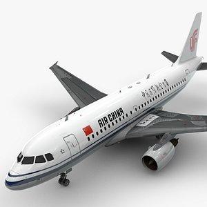 3D Airbus A319-100 AIR CHINA L1372
