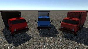 3D - industrial truck model