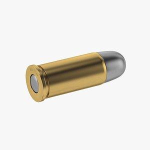 3D bullet 44 model