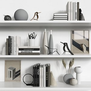 3D decorative set cooee model