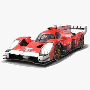 Glickenhaus Racing SCG 007 LMH WEC 2021 Hypercar 3D