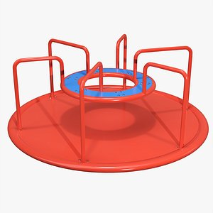 Merry-go-round carousel 03 model