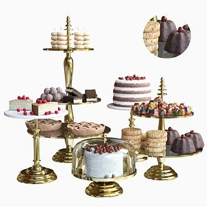 sweets set 3D