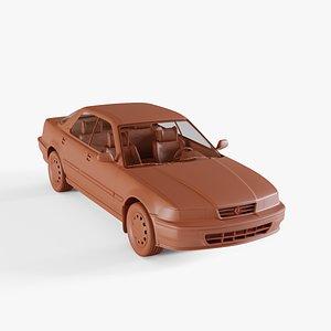 3D acura vigor 1991