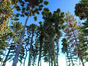jurassic tree jura 3D model