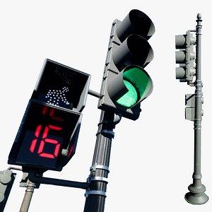 3D traffic light washington