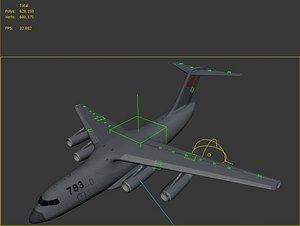 aircraft plane 3D model