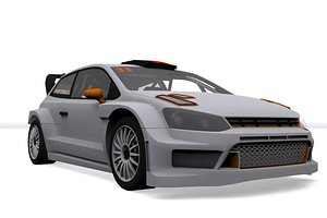 3D rally car v4
