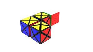 Dino Cubes Set 3D model